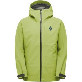 Black Diamond Recon Stretch Ski Shell Jacket Men verde
